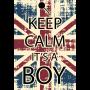 Keep calm boy/girl
