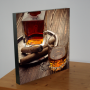Cognac en sigaren - WANDBORD