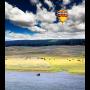Luchtballon loch
